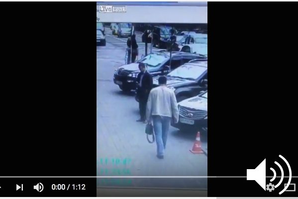 Video of Denis Voronenkov, ex-Russian MP, Assassination in Ukraine