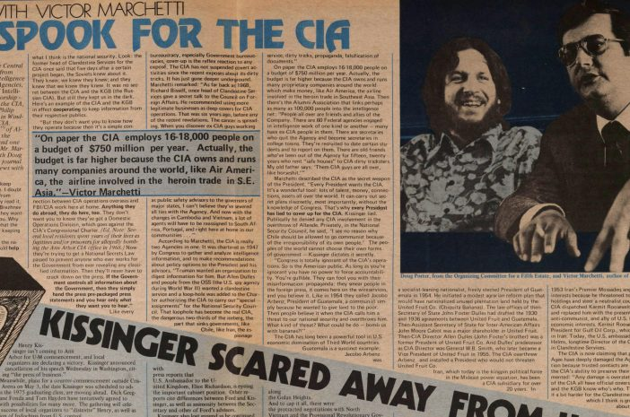 Former CIA Employee Explains How the CIA Manufactures History