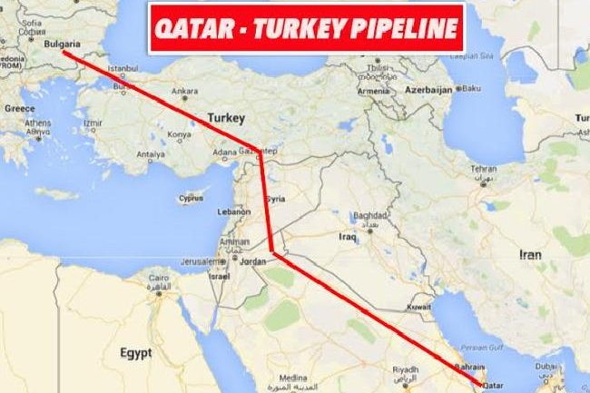 Syria: Another Pipeline War ~Robert F. Kennedy Jr.