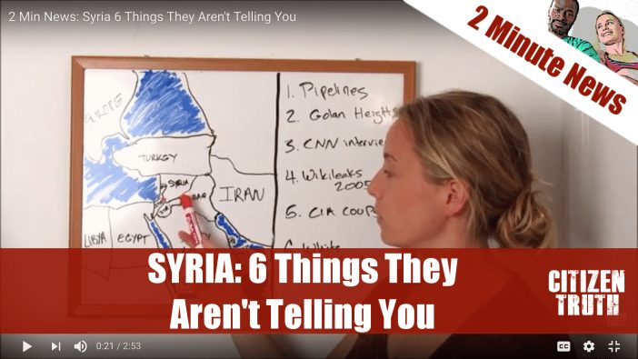 2 Min News: Syria 6 Things They Aren't Telling You