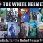 Photo Stockpile of White Helmet Workers Also Appearing as Armed Soldiers