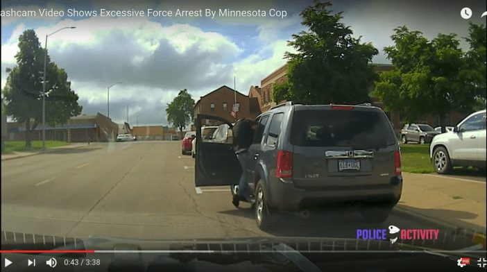 ACLU Releases Video of Police Officer's Violent Assault on Minnesota Motorist