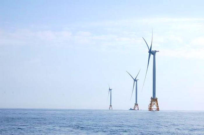 Nation's First Off-Shore Wind Farm Replaces Diesel Plant