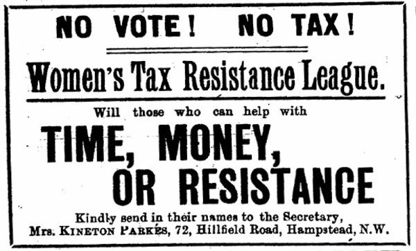 Tax Resistance: Resisting Alone, Then Discovering Community