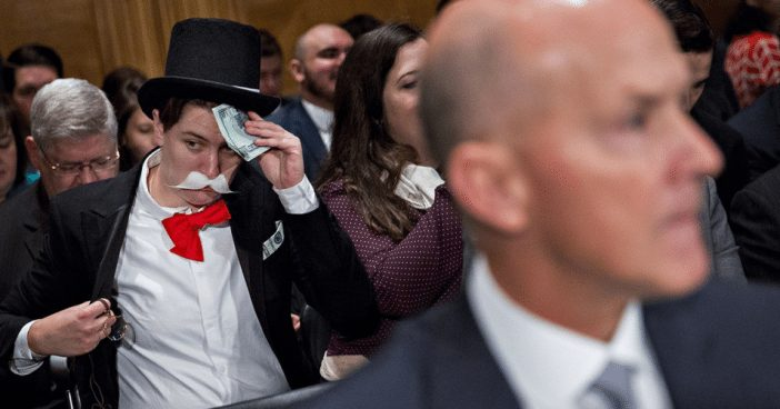 'Monopoly Man' Mocks Equifax CEO While Warren Demands Answers on Security Breach