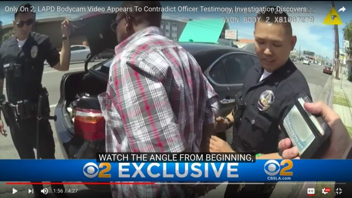 Watch: Bodycam Video Shows LAPD Plant Drugs On Suspect