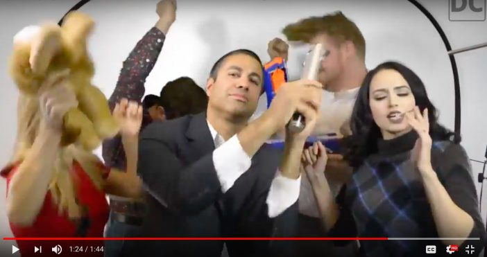 FCC Chair Thinks 83% of Americans are Morons as He Dances To The Harlem Shake in Video