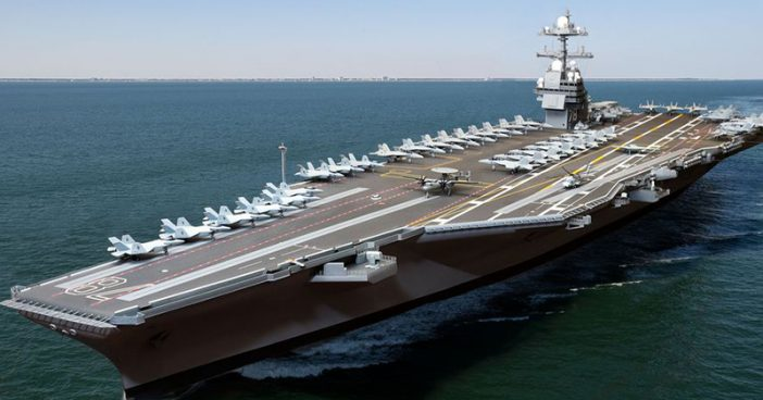 In Post-War First, US Aircraft Carrier Expected To Take Port In Vietnam