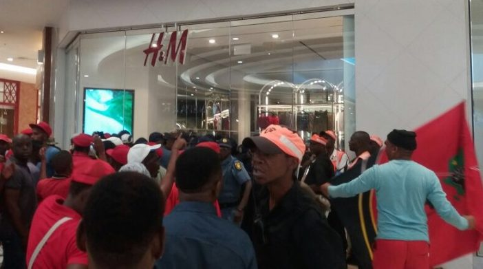 South African Political Party Organizes Protests Over 'Racist H&M Ad'