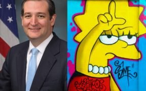Ted Cruz and the Simpsons