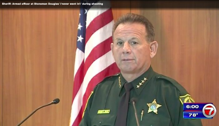 Local Sheriff Israel Says Armed On Campus Deputy Did Nothing During Parkland Shooting, Officer Suspended