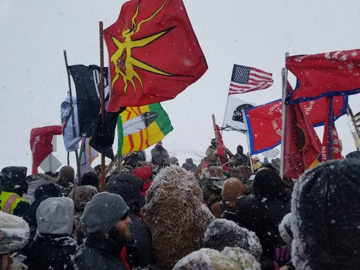 The Veteran Service Corps' Birth at Standing Rock