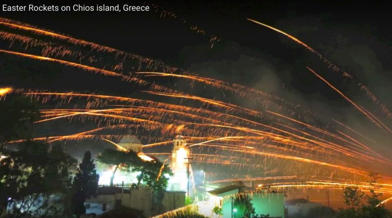 The Easter 'Rocket War', Where Two Greek Churches Fire Rockets Back & Forth