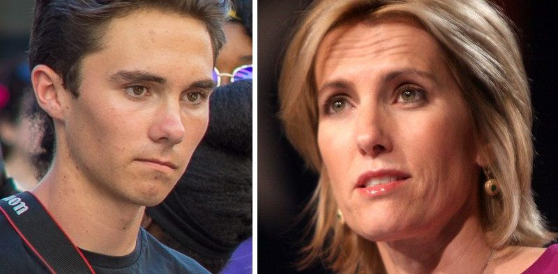 David Hogg & Laura Ingraham