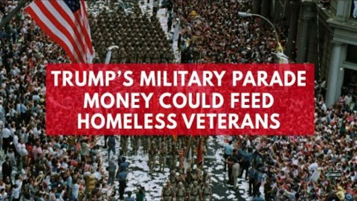 Trump's Military Parade Is a Colossal Waste of Money