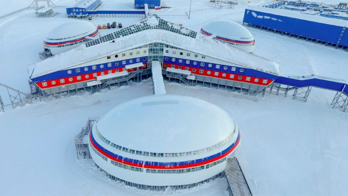 "Inside The Russian Arctic Base ""Shamrock"" & Their Growing Arctic Military Operations"