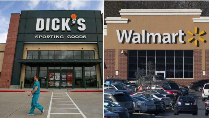 Stricter Gun Control Measures Adopted By Both Walmart And Dick's
