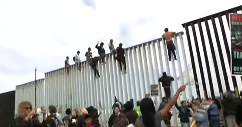 Migrant Caravan Arrives At Southern Border, It Didn't Expect This