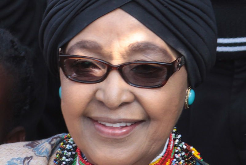 Winnie Mandela died April 2nd