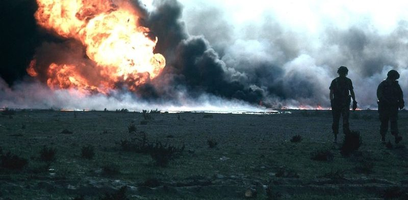 Environmental Disasters, Kuwaiti Oilfield Fire