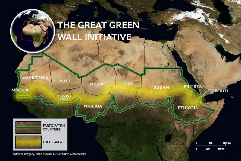 Will the Great Green Wall of Africa Stop Endless Immigration to Europe?