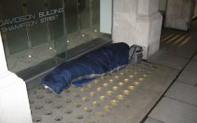 Homelessness in the UK
