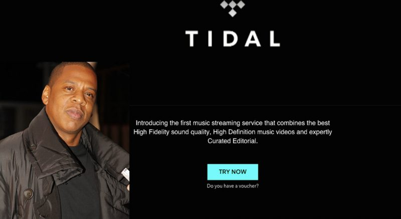 Music Streaming Service, Tidal, Accused of Faking Millions of Beyoncé and Kanye West Album Streams