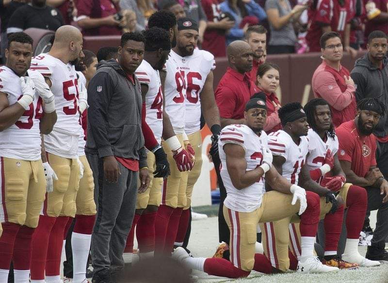 New NFL Policy Will Fine Teams if Players Kneel During Anthem, But There's a Catch