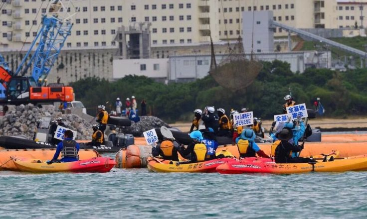Video: By Land and Sea, Locals Protest Another US Military Base in Okinawa