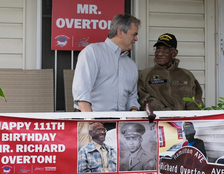 Happy Birthday to America's Oldest WWII Veteran, the Amazing Richard Overton