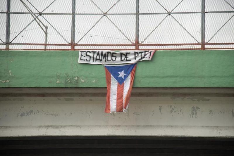 Puerto Rico after Hurricane Maria, Puerto Rico May Day march