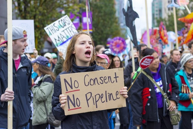 Despite Leak Canada Buys Kinder Morgan's Trans Mountain Pipeline