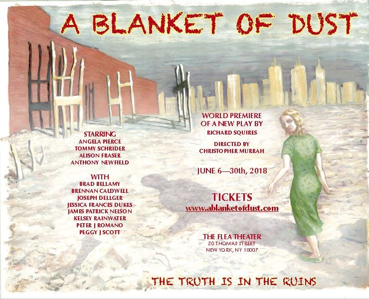 """9/11 Widow's Harrowing Search for Justice Comes to the Stage in """"A Blanket of Dust."""""""