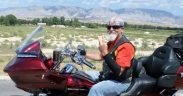 Photo Col Mikel Burroughs motorcycle fundraiser 6 2018