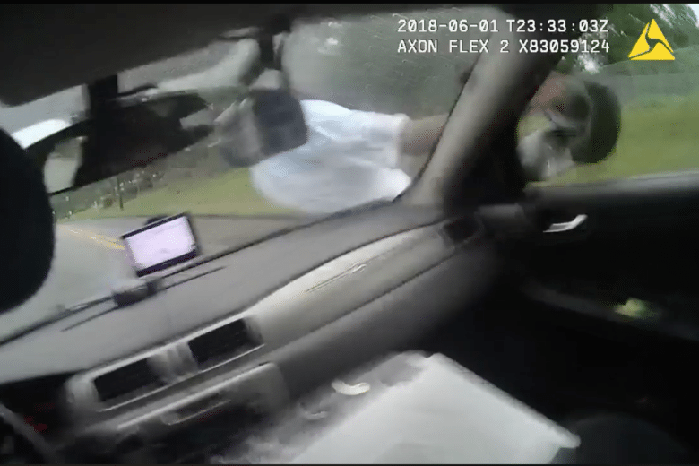 Police Officer Fired After Video Shows Him Run Over Suspect