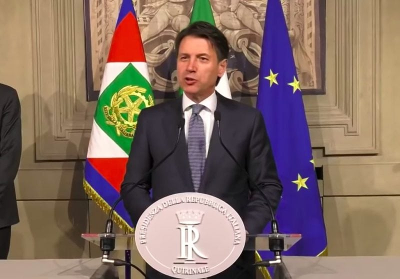 Italy to Have First-Ever Populist Government Under Conte