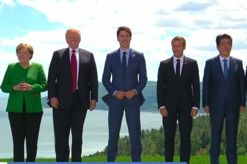 G7 Nations Vow to Slash Trade Barrier but Angry Trump Tweets Say Otherwise