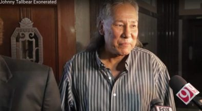 Native American Man, Tall Bear, Exonerated By DNA Evidence After 26 Years in Prison