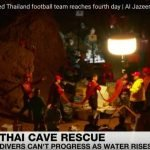 Thailand Youth Football Team Trapped in Flooded Cave For Days