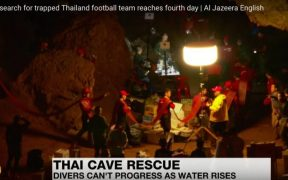 Thailand Youth Football Team trapped in cave