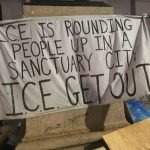 Live From Occupy ICE Philadelphia as Police Brutality Forces Move to Occupying City Hall