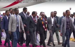 Eritrea and Ethiopia end decades old war
