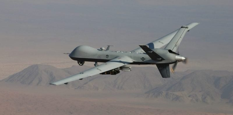 First trans atlantic reaper drone