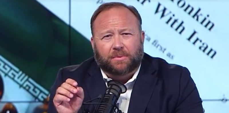 Alex Jones speaking about Infowars.