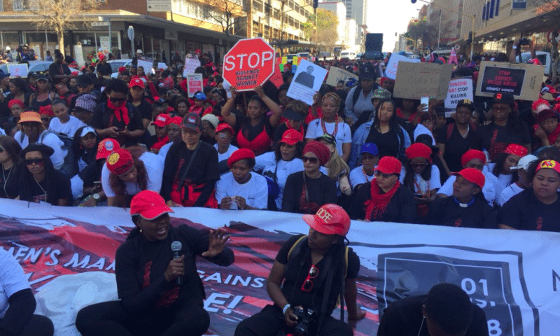 Nation-wide Shutdown Against Rape Culture Marks Women's Month in South Africa