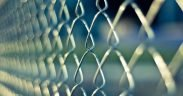 Image of a chain link fence