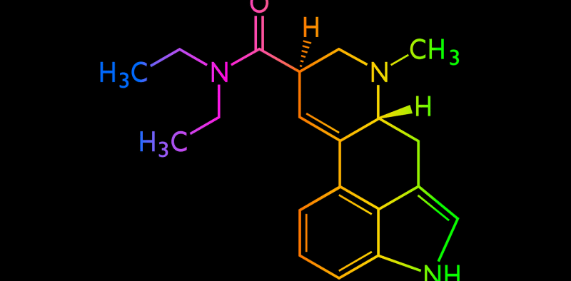 Image of colorful chemistry formula