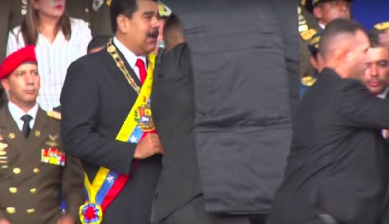 Venezuela's Maduro Survives Drone Attack, But Who Masterminded The Assassination Attempt?