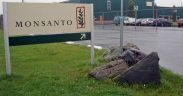 picture of Monsanto company sign