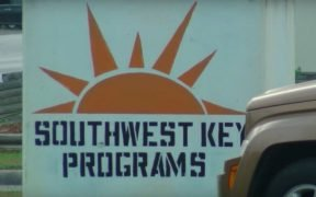 Logo Southwest Keys Programs, orange sun